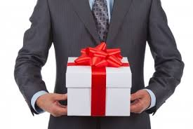 Avoid wrapping gifts in white or black, which are associated with funerals.