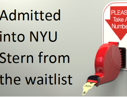 Admitted to NYU Stern from Waitlist – testimonial