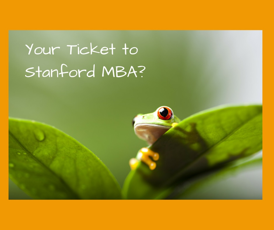 Getting into Stanford MBA