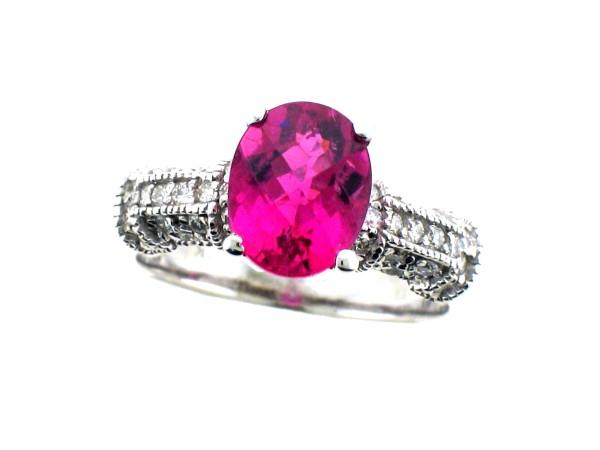 Pink Tourmaline Rings