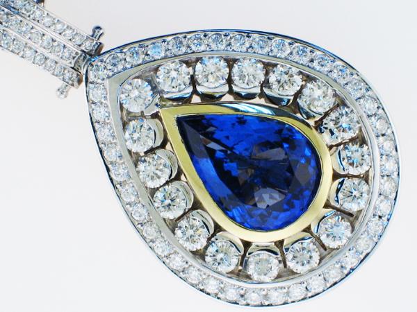 Diamond and Colorstone Pendants