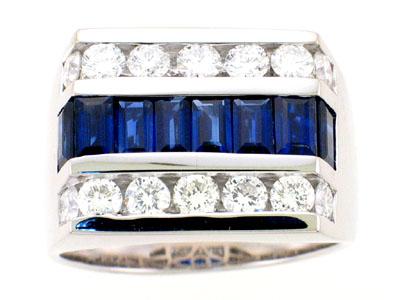 Men's Sapphire Rings