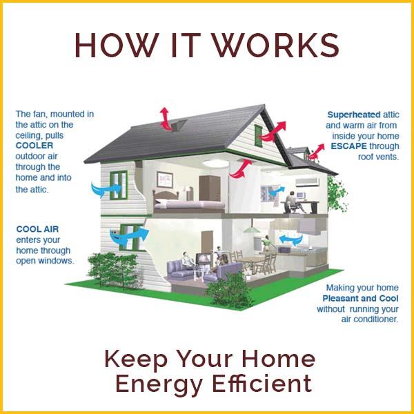 Wire Wiz Electrician Services   Attic Fan Content 2