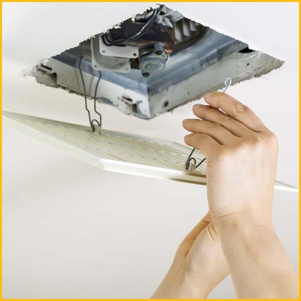 Wire WIz Electrician Services | Bathroom Exhaust Fan Installation