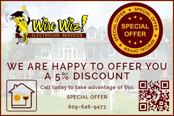 Wire Wiz Electrician Services | Special Offer 5% Discount