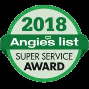 Angie's List Super Service Award 2018
