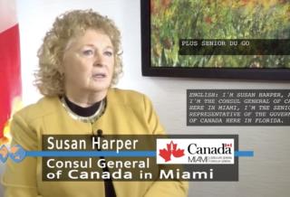 Susan Harper, General Consul of Canada in Miami | International Women's Day Awardee