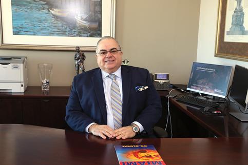 Chairman of World Trade Center Miami, Roberto Munoz
