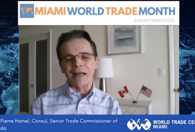 Jean-Pierre Hamel Trade Commissioner of Canada   Miami World Trade Month