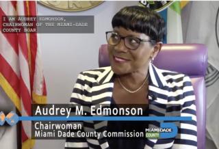 Miami-Dade County Commission Chairwoman Audrey Edmonson | International Women's Day Awardee