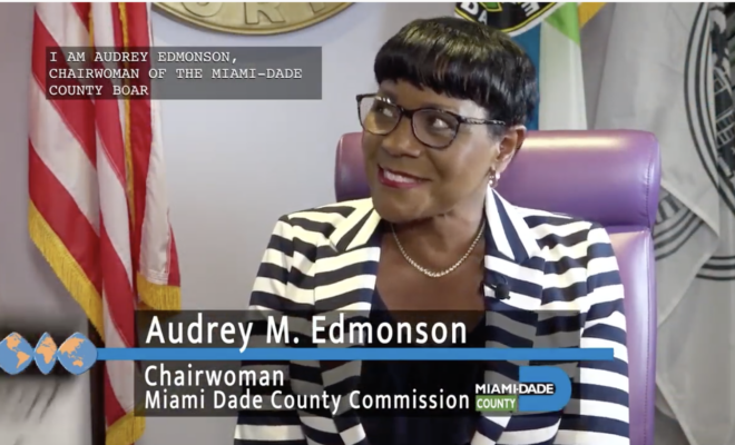 Miami-Dade County Commission Chairwoman Audrey Edmonson | International Women's Day Awardee