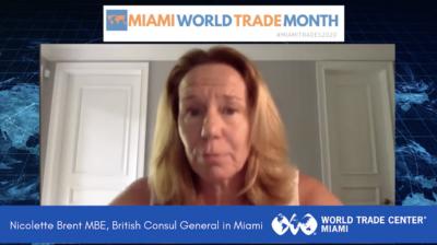 Nicolette Brent, British Consul | Miami World Trade Month
