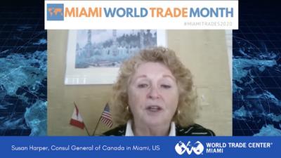 Susan Harper, General Consul of Canada in Miami | Miami World Trade Month