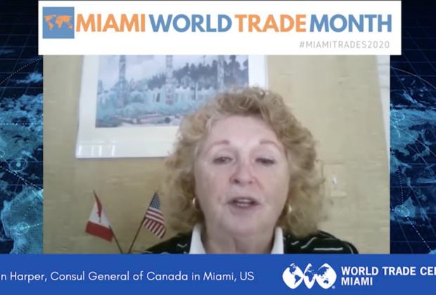 Susan Harper, General Consul of Canada in Miami   Miami World Trade Month