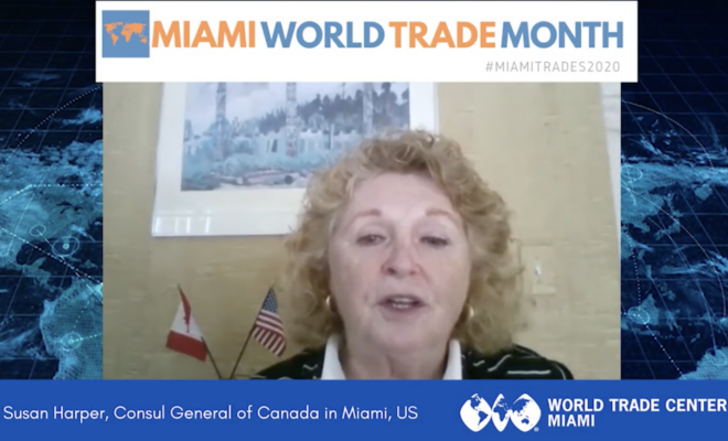 Susan Harper, General Consul of Canada in Miami | Miami World Trade Month