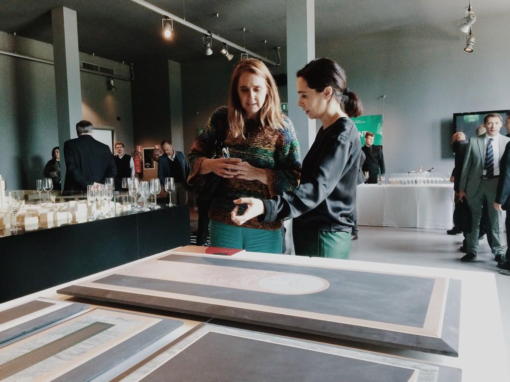 Cristina Celestino con Laura Agnoletto @ Cristina Galliena Bohman