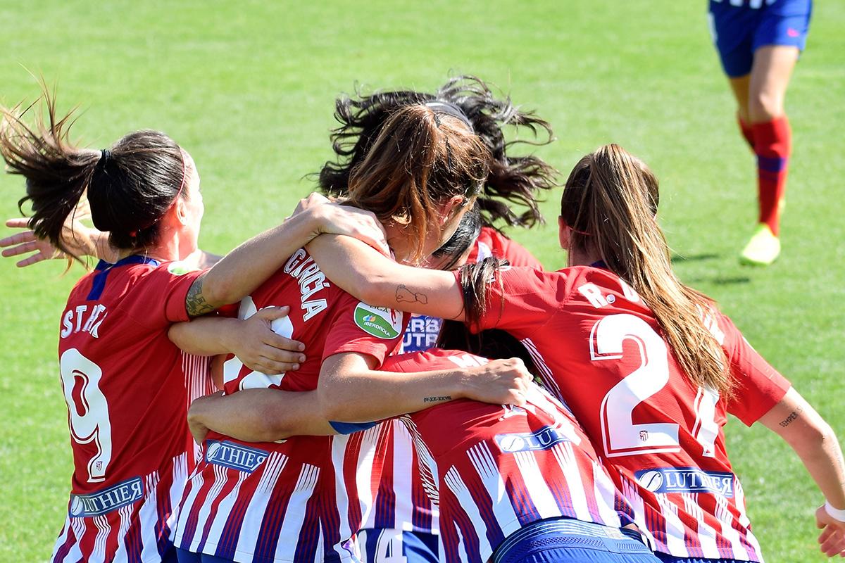 Atletico de Madrid Femenino Gol - c Reguero