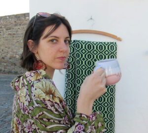 Alicia Morán, escritora española.
