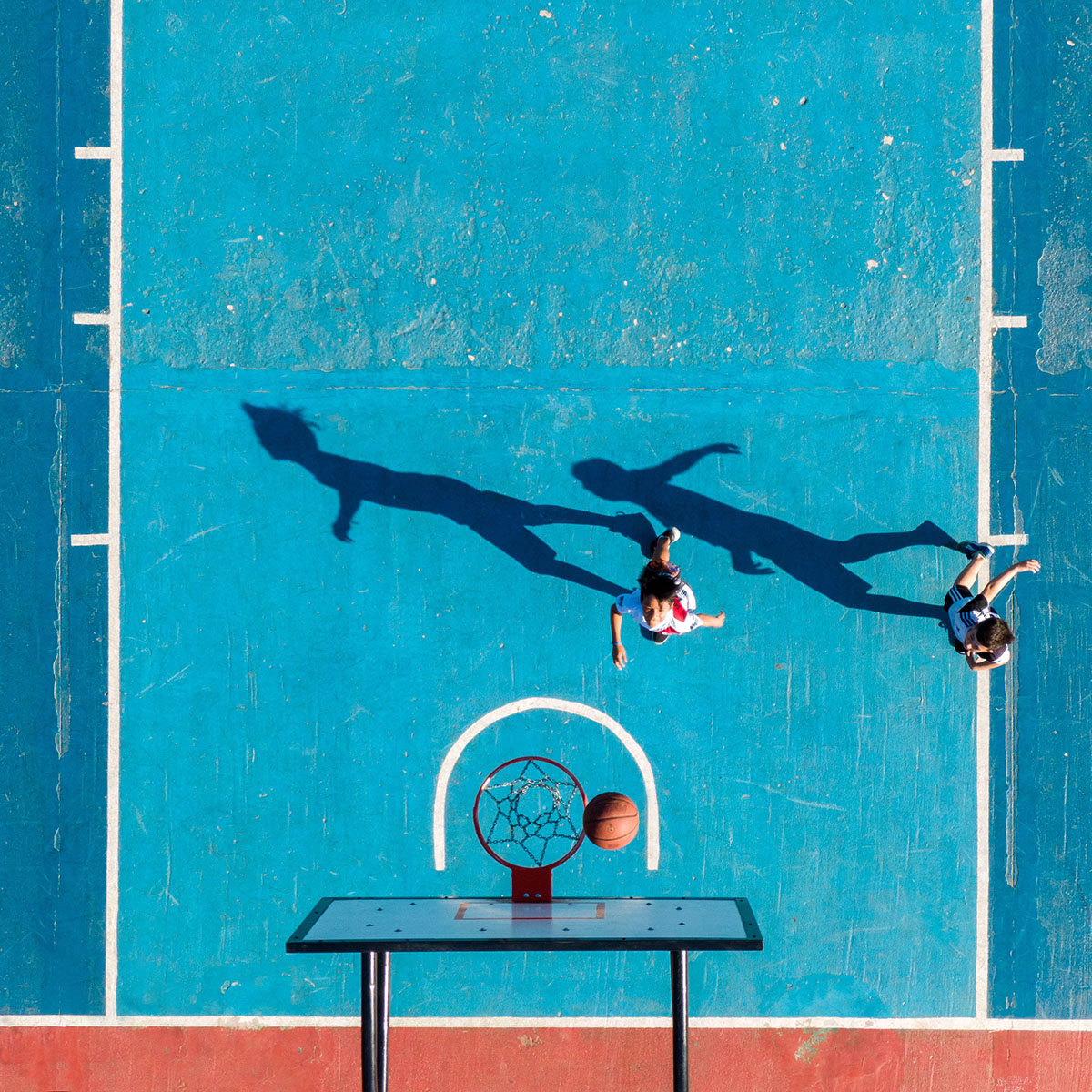Partido de Básquet - ©Néstor Barbitta.