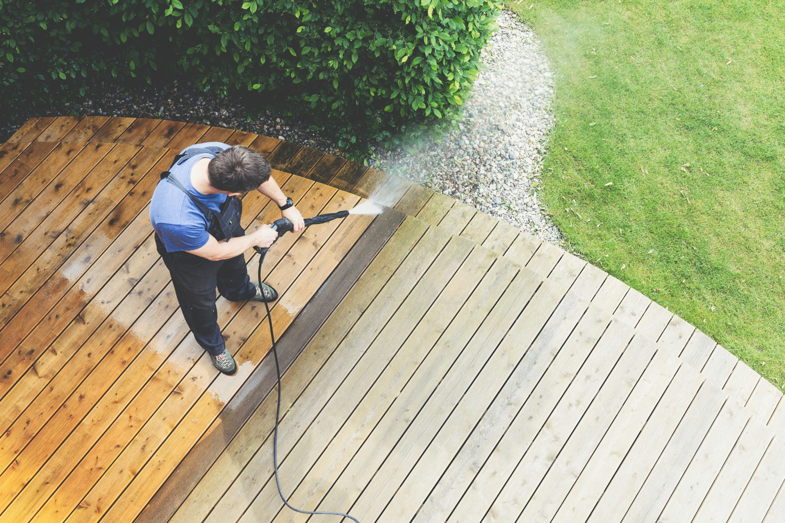 Property Services Pressure Washing