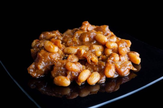 Nana's Baked Bean Casserole (cleaned-up version: This favorite and much requested casserole has bean cleaned up to be healthier!