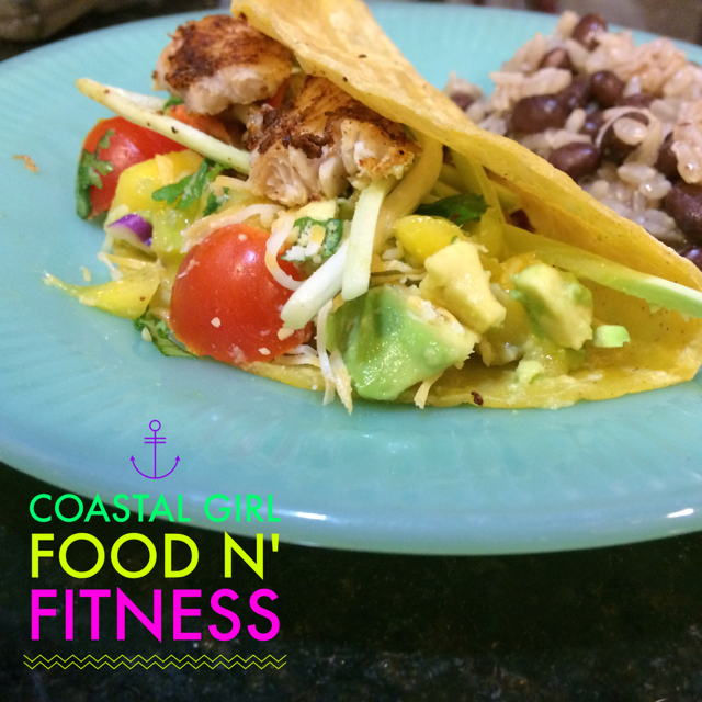 These Easy Fish Tacos with Mango Avocado Salsa are a regular on my 21 Day Fix Menu! They are simple and quick to make and oh so good!