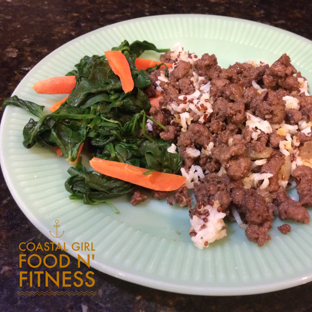 Quick Korean Beef! It is easy, healthy and takes only 20 minutes to put together!