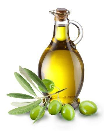 Olive oil contains monounsaturated fats, which promote healthy hearts and reduce the risk of cancer.