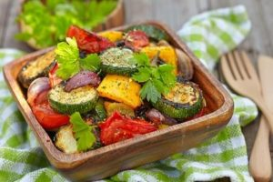 Grilling vegetables is a great choice for healthy grilling!