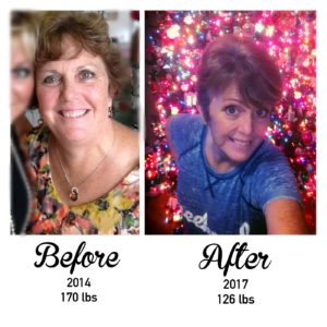 It takes a village! Before and after weight loss and make over