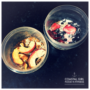 Oatmeal On the Go! The combinations are endless!