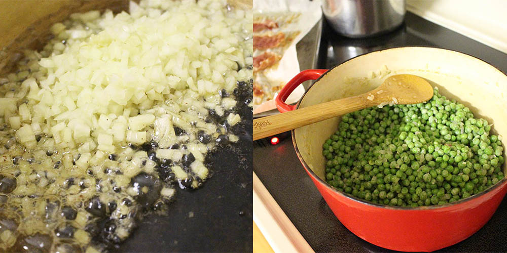 pea+onion
