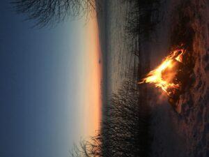 Fire at Sunrise