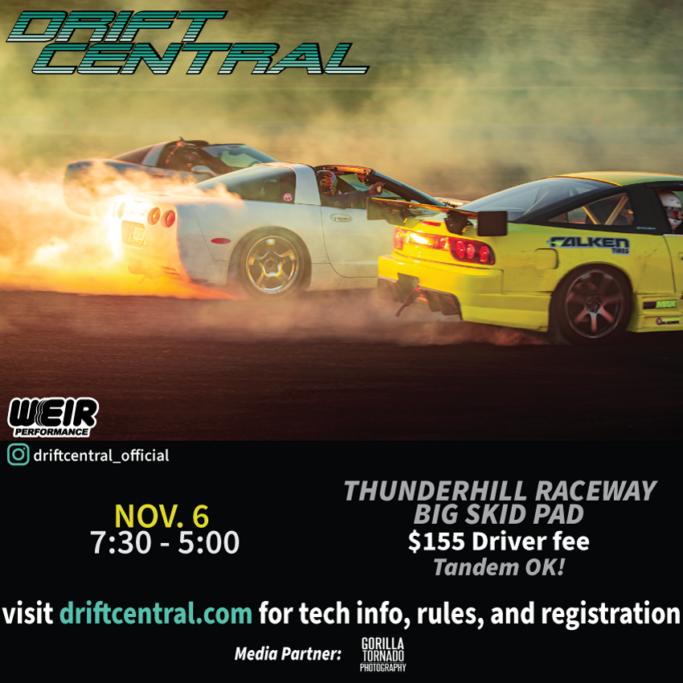 November 21 Drift Event