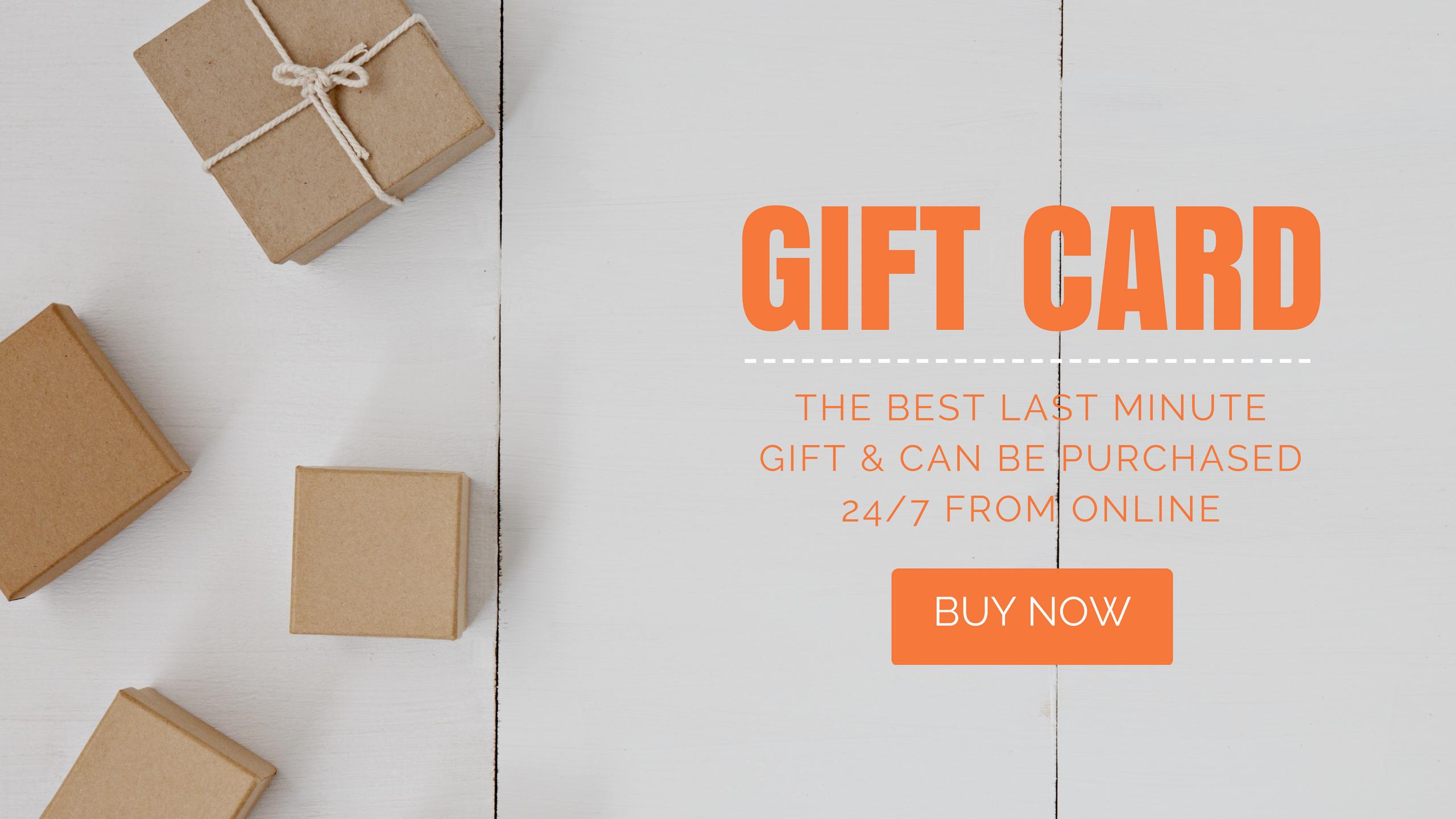Gift Card Snackin' Free Paleo Cafe