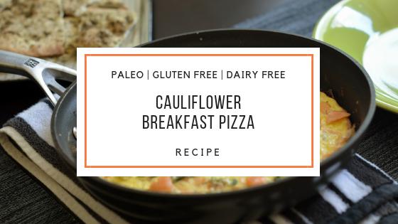 paleo breakfast pizza