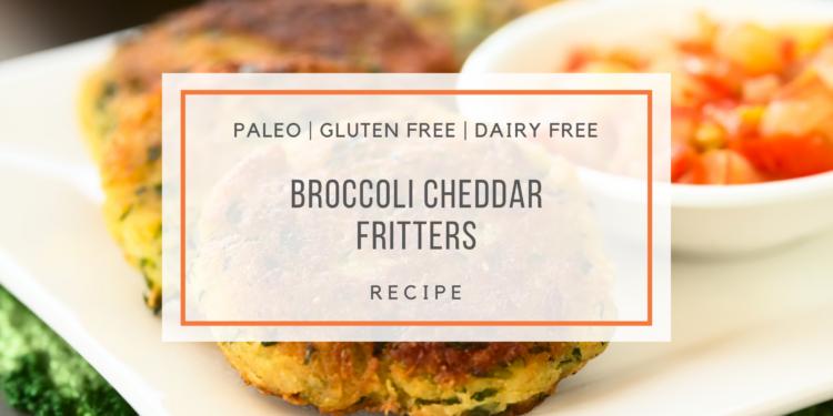Broccoli Cheddar Fritters_snackin' free