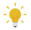 A lightbulb graphic