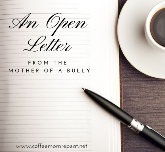 An Open Letter from the Mother of a Bully