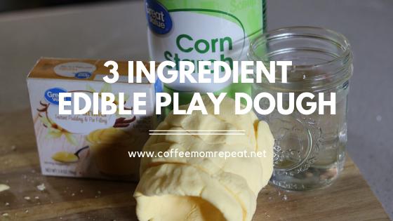 3-Ingredient Edible Play Dough