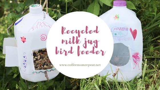 Recycled Milk Jug Bird Feeders — Fun For Kids!