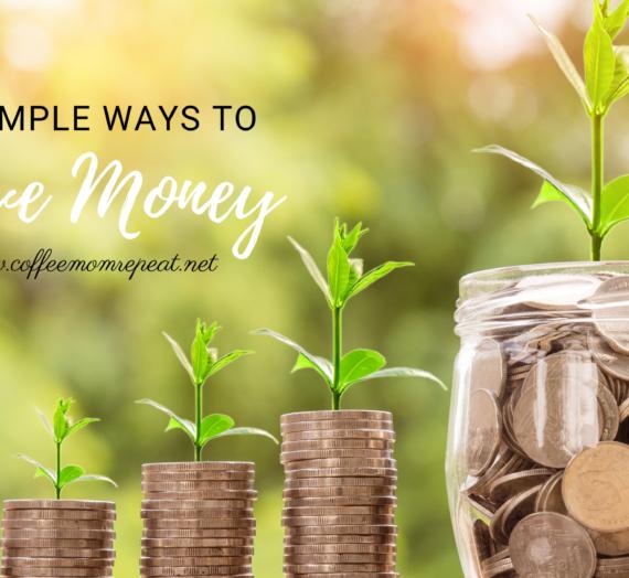 10 Simple Ways to Save Money