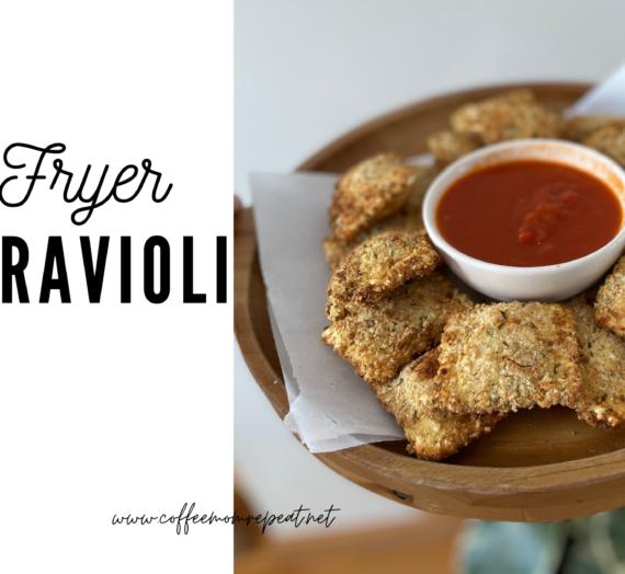 Air Fryer Fried Ravioli