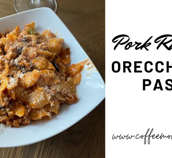 Pork Ragu with Oreccheiette Pasta