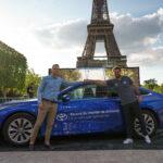 Toyota Mirai breaks hydrogen driving record