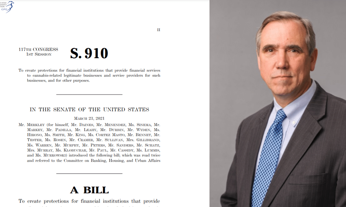 SAFE Banking Act of 2021 (S 910)