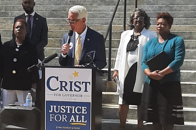Charlie Crist vows to push for legalizing cannabis as governor