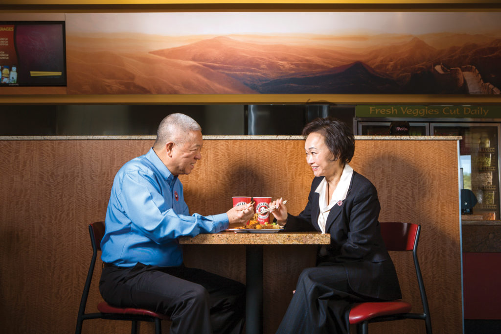 Andrew & Peggy Cherng