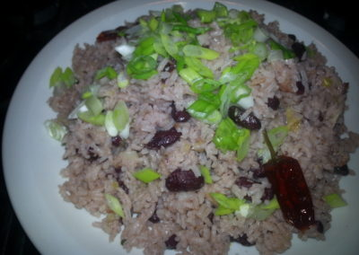 Jamaican coconut rice