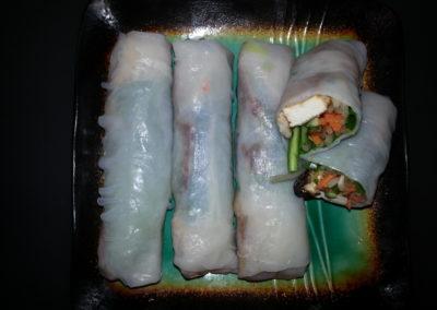 Thai tofu Summer rolls